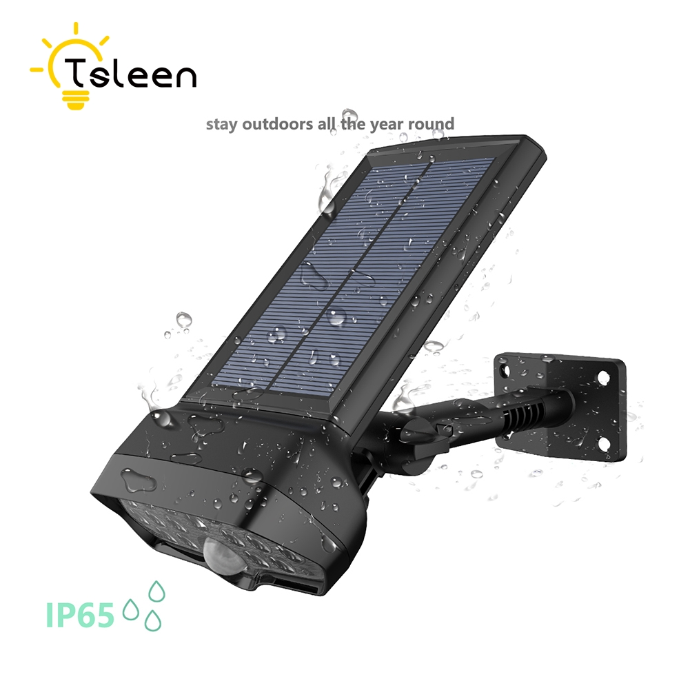 TSLEEN Solar Light Motion Sensor Luminaria Solar Lamp Waterproof PIR Garden Led Outdoor Lighting Wall Lamps Energia Solar Jardim outdoor led garden light security 90 led solar light pir motion sensor solar powered emergency wall lamp waterproof ip65