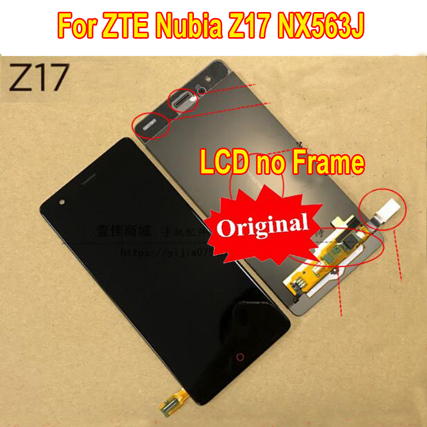 Original Best Tested Working LCD Display Touch Screen Digitizer Assembly Sensor For ZTE Nubia Z17 NX563J Phone Panel ReplacementOriginal Best Tested Working LCD Display Touch Screen Digitizer Assembly Sensor For ZTE Nubia Z17 NX563J Phone Panel Replacement