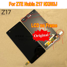 Original meilleur testé travail LCD écran tactile numériseur assemblée capteur pour ZTE Nubia Z17 NX563J téléphone panneau de remplacement