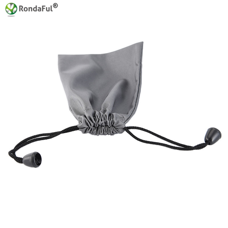 Waterproof Earphone Storage Pouch Soft Bag for Bluetooth Headphone/Cable/Chargers/MP3/MP4 Dustproof Elastic Opening