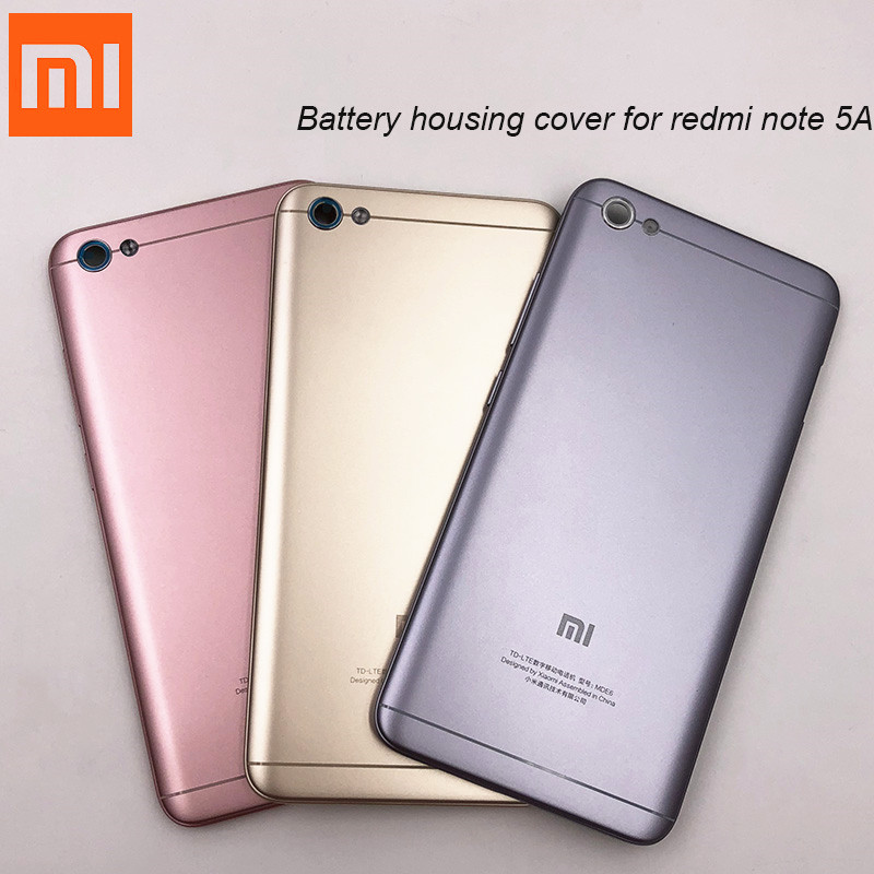Xiaomi Back-Cover Case Metal Replace-Power Note-5a Original for Redmi Rear Door-Battery