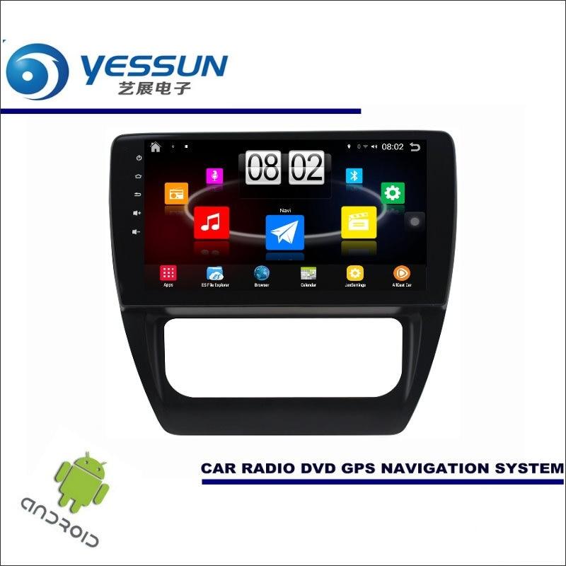 Yessun автомобиля Android мультимедийный плеер для Volkswagen VW Sagitar 2012 ~ 2014 Радио стерео GPS nav Navi (без cd DVD) 10.1 HD Экран