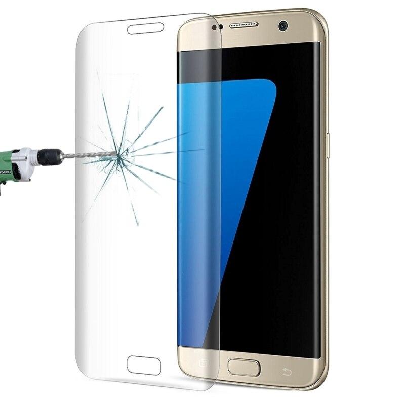 Couverture complète Clair Transparent En Verre Trempé Film Pour Samsung Galaxy S7 Bord G935 Écran Protecteur En Verre Trempé Film