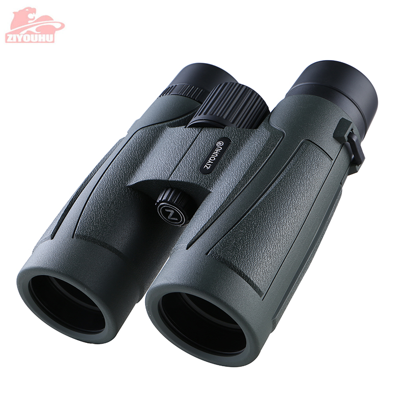 Latest Design 10x42 HD Binoculars Powerful Professional lll Night Vision Waterproof Binocular Hunting Telescope 6 Color Optional-in Monocular/Binoculars from Sports & Entertainment