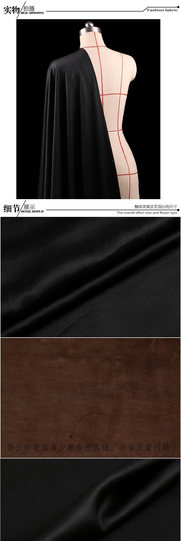 natural regado gaze tecido para vestido tissu au metro pano brilhante diy