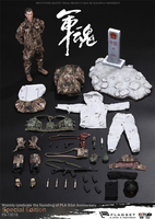New 1/6 FLAGSET 73018 Chinese People's Liberation Army 91st Anniversary Border Guard Action Figure Collection Doll Toys Gift