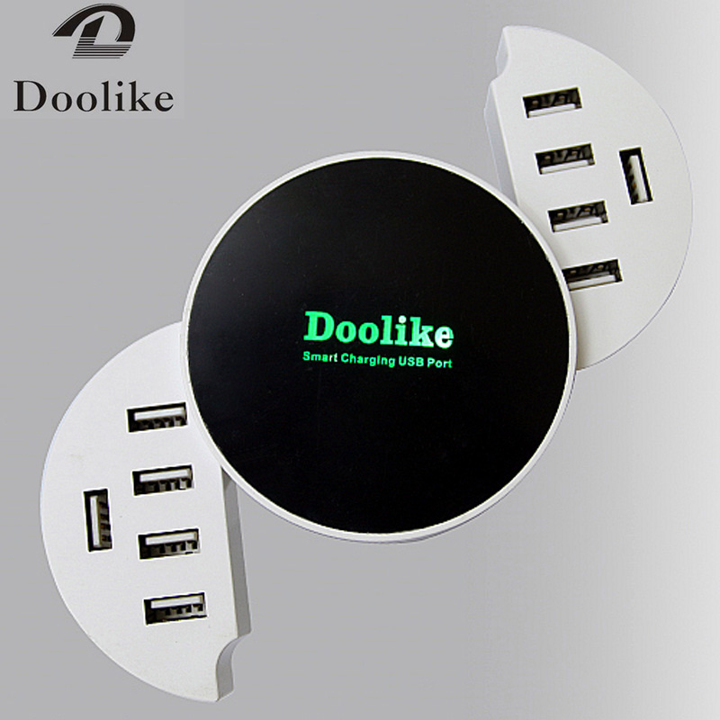 Doolike 10 Ports USB chargeur Charge rapide 2.0 chargeur 10 USB intelligent rapide Turbo chargeur Mobile pour iPhone pour Samsung