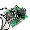 Display Digital DIY controlador de temperatura módulo 12 v de alta precisão de temperatura controle de temperatura sensor interruptor de controle