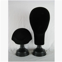 Free Shipping!! Black Color Fashionable Wig Head Mannequin Head Model On Sale