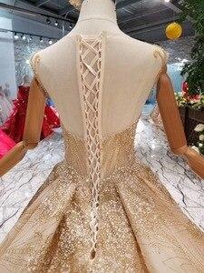 Image 5 - 럭셔리 크리스탈 소녀 debutante 15 년 드레스 vestidos 파라 15 anos 달콤한 16 생일 공 가운 샴페인 quinceanera 드레스