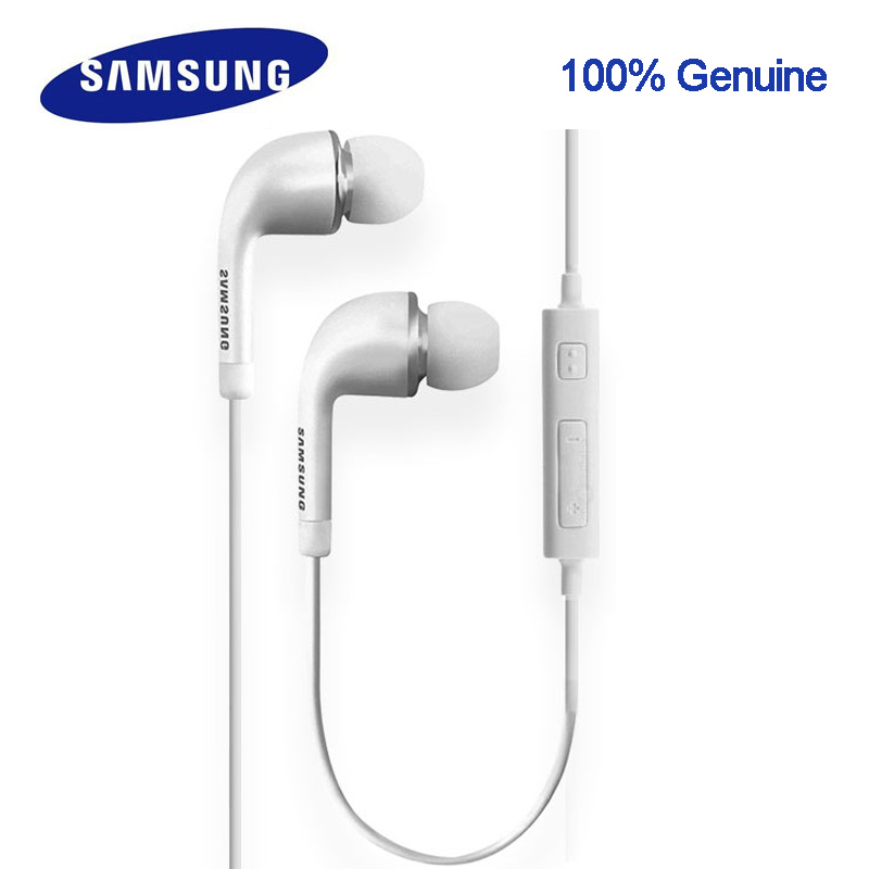 Origianl Samsung Earphone Ehs64avfwe For Xiaomi4/5/6 Note1/2/3 Rednote1/2/3 Galaxy S6 SMG920/S Edg SM G925/S5/S6/S7