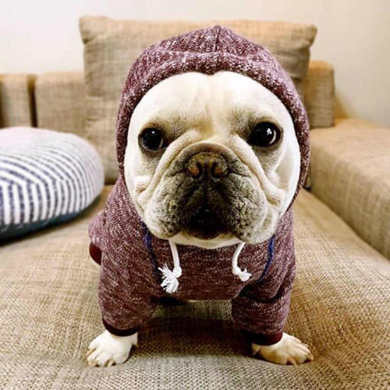 Новое поступление одежда для собак одежда из плюша с капюшоном Собака Одежда Щенок наряд собаки одежда пользовательских Тедди Чихуахуа 45 P1