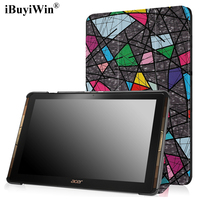For Acer A3 A40 Colorful Smart PU Leather Cover For Acer Iconia Tab 10 A3 A40