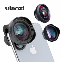 ULANZI Wide Angel Phone CPL Lens Fisheye 2X Telephoto Filter for iPhone Samsang Android HUAWEI Xiaomi Smartphone Camera