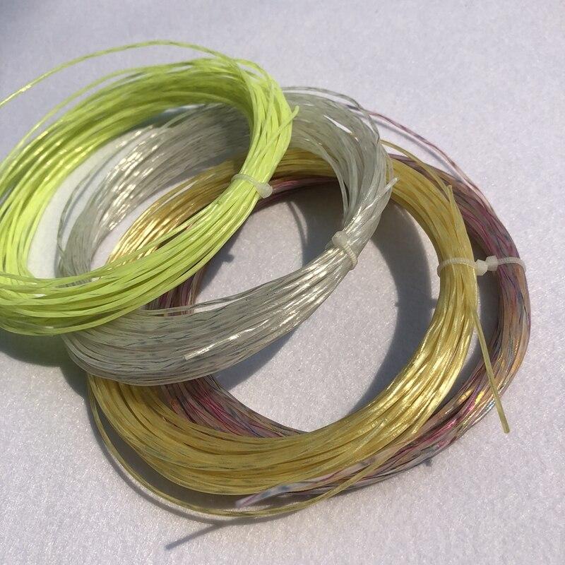 1 Pc Tennis Racket Strings Nylon Rainbow String Tennis Racket Strings 1.35mm 12M