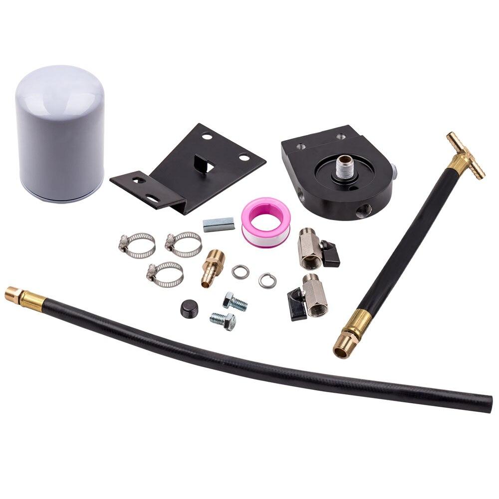 Kit de filtre de Filtration de liquide de refroidissement pour Ford F350 Super Duty 7.3L powertemp 99-03