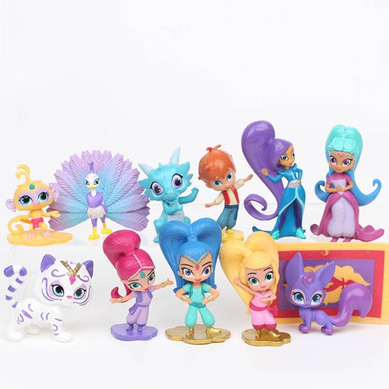 卸売 10 セット/ロット新王女きらめき人形ファッション人形輝き姉妹人形ギフトのための  グループ上の おもちゃ & ホビー からの 人形 の中 1