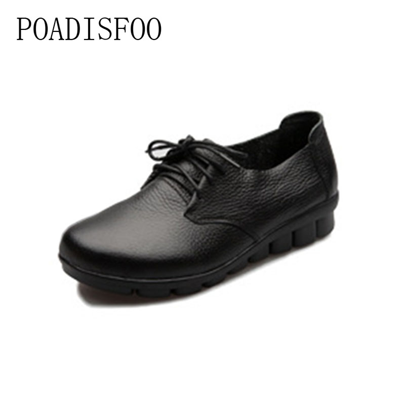 2017 newHandmade leather women's shoes soft cowhide mothers shoes comfortable comfortable pregnant women workers shoes.CSG-105 цена