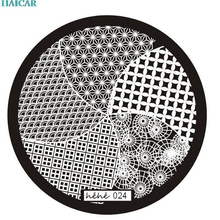 DIY 5 Pattern Nail Art Image Stamp Stamping Plates Manicure Template Hehe Series for Women Beauty  ar12 Levet dropshipdropship