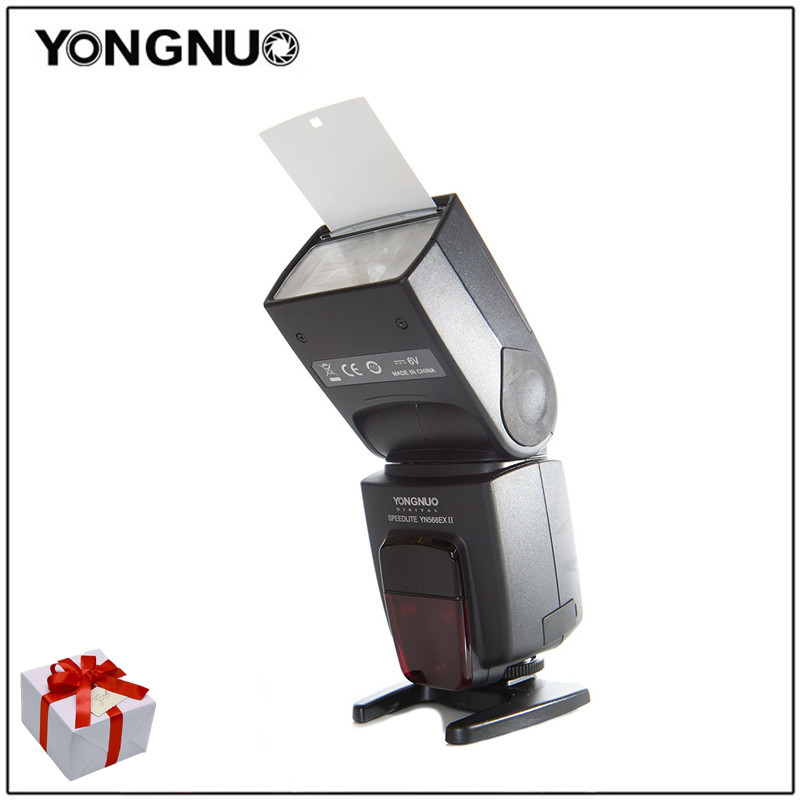 Galleria fotografica Yongnuo YN-568EX II YN568EX II Sans Fil TTL HSS Flash Speedlite Pour <font><b>Canon</b></font> 6d 60d 550d 650d 5d mark iii 1200d 100d DSLR caméras