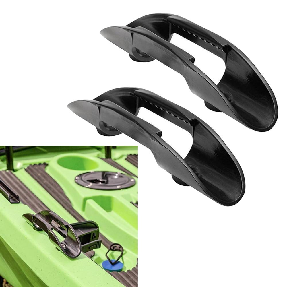 2PCs Kayak Canoe Paddle Holder Clips Kayak Paddle Keeper Without Screw
