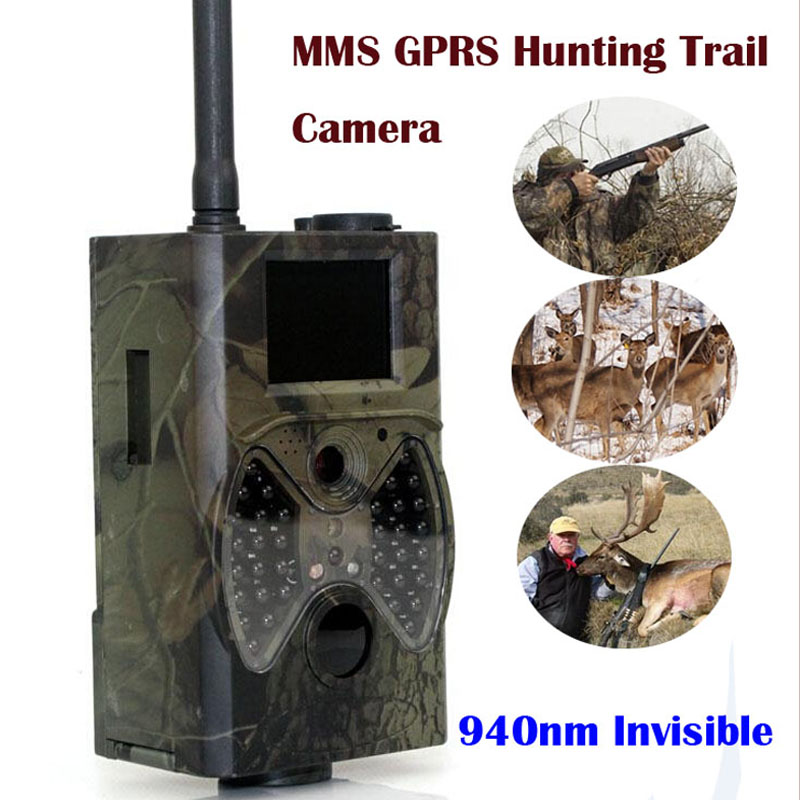 Suntek Scoutisme chasse caméra HC300M HD GPRS MMS Numérique 940NM Infrarouge Trail Caméra GSM 2.0 LCD Hunter Cam Photo piège