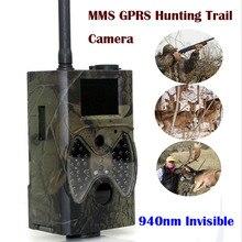 """Jako wyrób suntek HC300M HD GPRS MMS polowanie aparat Cyfrowy 940NM Harcerstwa Trail Podczerwieni Kamera GSM 2.0 """"LCD Hunter Cam Bezpłatne wysyłka"""