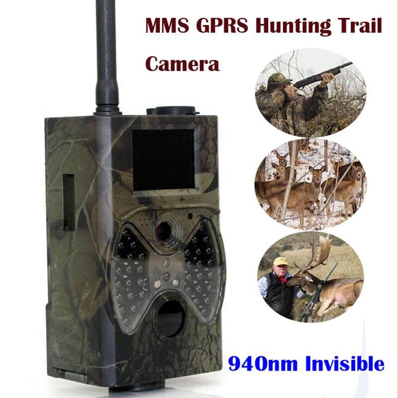 Suntek Scoutisme chasse caméra HC300M HD GPRS MMS Numérique 940NM Infrarouge Trail Caméra GSM 2.0 LCD Hunter Cam Livraison gratuite