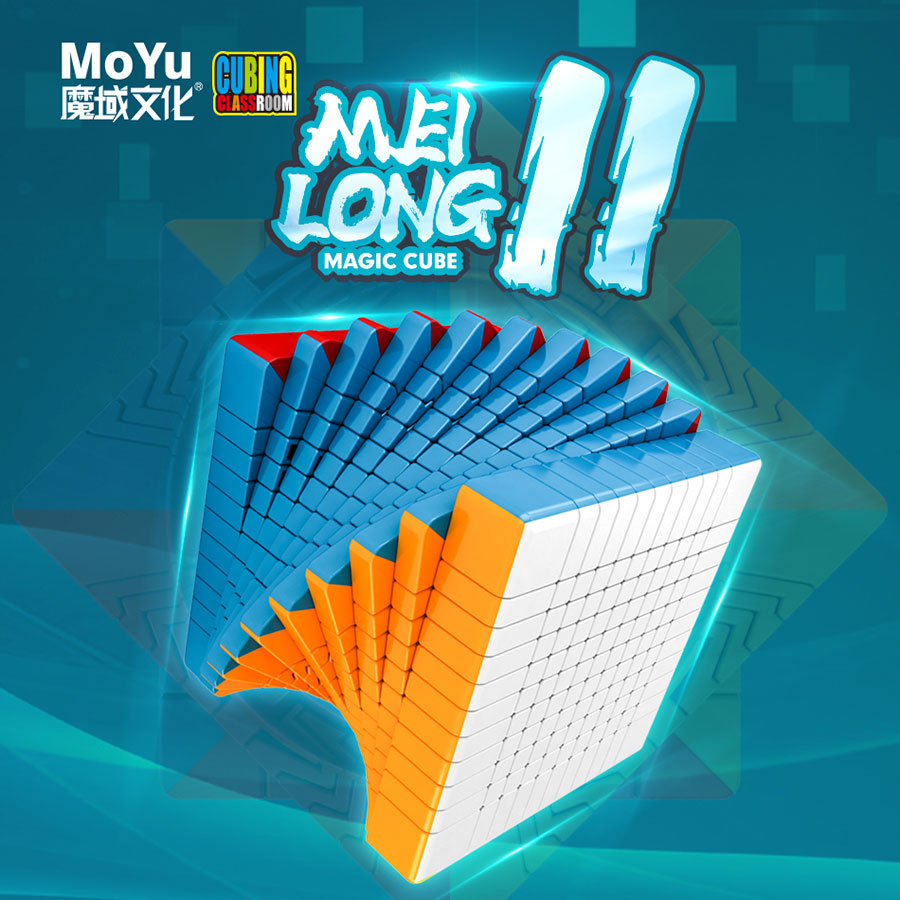 Magic cube puzzle MoYu Meilong 10x10x10 11x11x11 high level cube creative twist wisdom game toy professional speed cube