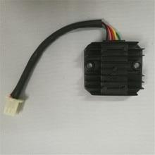 1 шт. Напряжение Регулятор выпрямителя 5 проводов для GY6 скутера ATV Quad 125cc 150cc Байк мотоцикл переменного тока