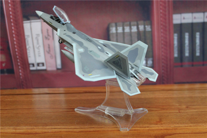 FOV 1/72 Scale Military Model Toys 85082 U.S Army F22/F-22 Raptor Fighter Diecast Metal Plane Model Toy For Collection/Gift brand new terebo 1 72 scale fighter model toys russia su 34 su34 flanker combat aircraft kids diecast metal plane model toy