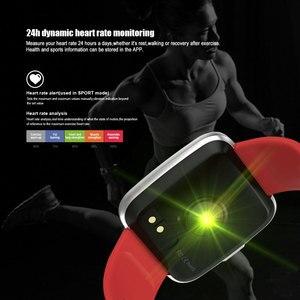 Image 2 - VERYFiTEK Y7 Smart watch Blood Pressure Heart Rate Monitor Fitness Tracker Waterproof Women Men Clock Smartwatch For Android IOS