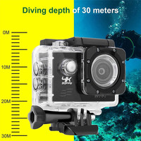 F60 FHD Wifi Action Camera 16MP 170 Degree Wide Angel Sports DV Waterproof Outdoor Diving Riding