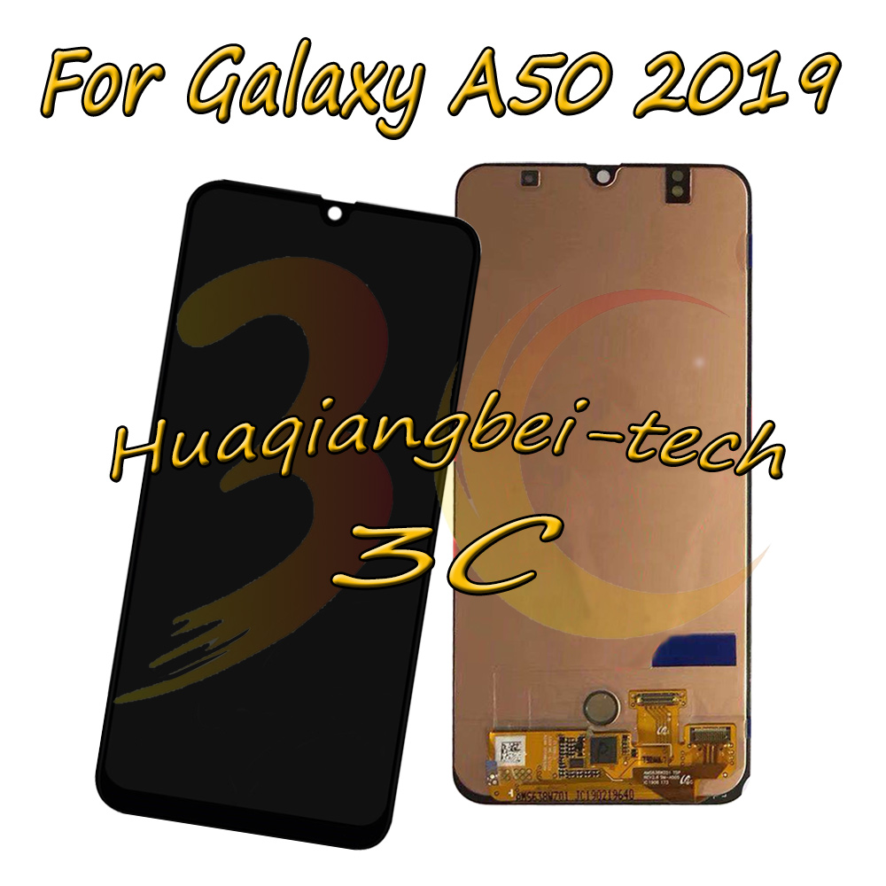 6.4 New For Samsung Galaxy A50 2019 SM-A505F/DS SM-A505FN/DS Full LCD DIsplay + Touch Screen Digitizer Assembly 100% Tested6.4 New For Samsung Galaxy A50 2019 SM-A505F/DS SM-A505FN/DS Full LCD DIsplay + Touch Screen Digitizer Assembly 100% Tested