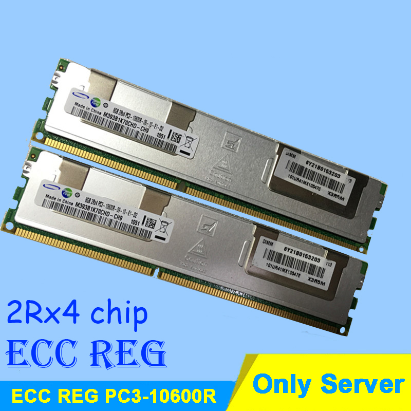 For Server Memory R-DIMM RAMs DDR3 4GB 8GB 16GB DDR3 1333MHz PC3-10600R 2Rx4 ECC REG RDIMM RAM DDR 3 1333 Only Lifetime Warranty