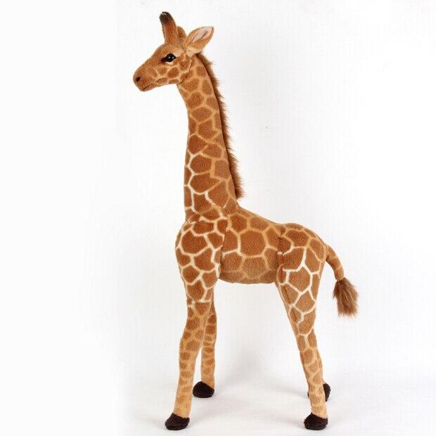 — ¡Bienvenidos a la tienda de cachivaches de Central Town! Animales-de-la-jirafa-Artificial-beb-juguete-de-peluche-100-cm-accesorios-para-el-hogar-mu