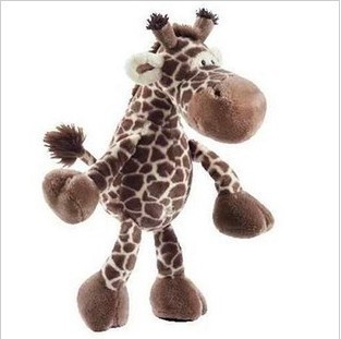 stuffed animal plush 25cm  jungle giraffe plush toy soft doll w2799 stuffed animal 120cm simulation giraffe plush toy doll high quality gift present w1161