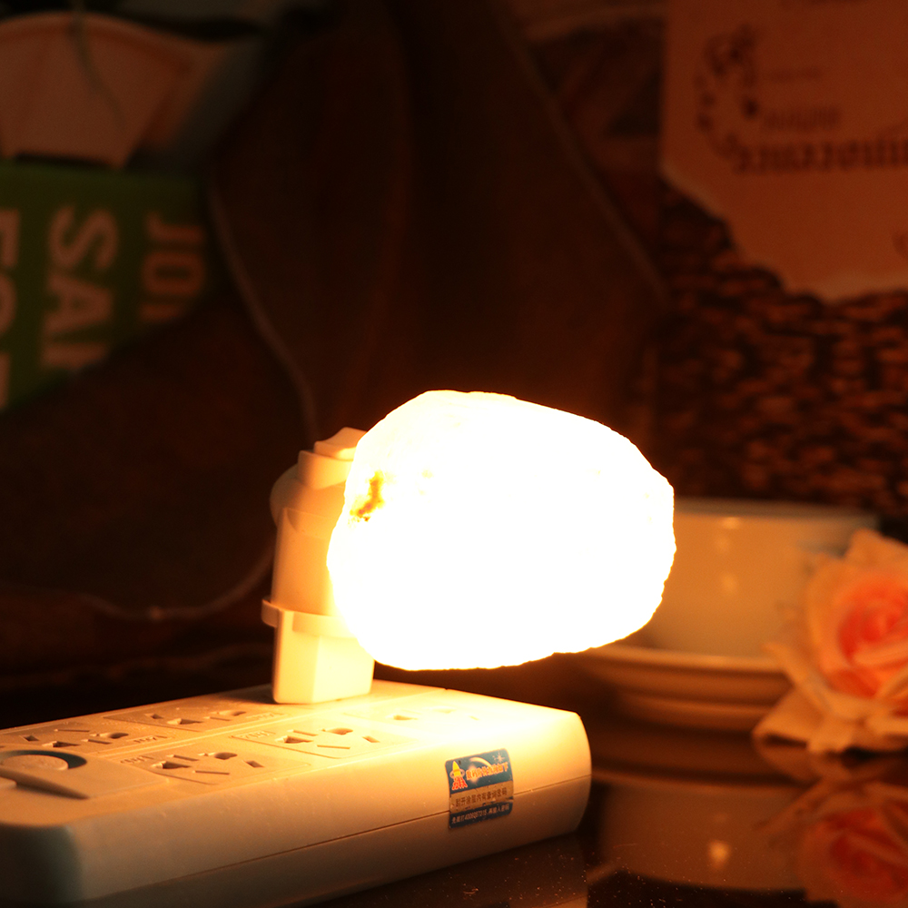 EU / US Plug Rotatable Cylinder Himalayan Salt Lamp 7W Air Purifier Crystal Salt Rock Bedside Night Light For Bedroom new led night light eu us plug himalayan salt lamp air purifier crystal salt rock night lamp for office desk bedside bedroom
