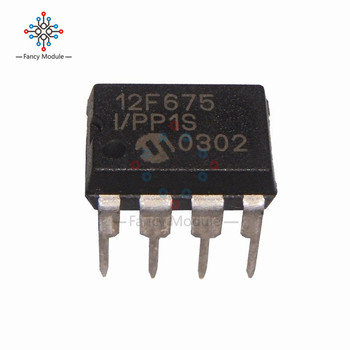 PIC12F675-IP PIC12F675 12F675 DIP-8 Microcontroller CHIP IC