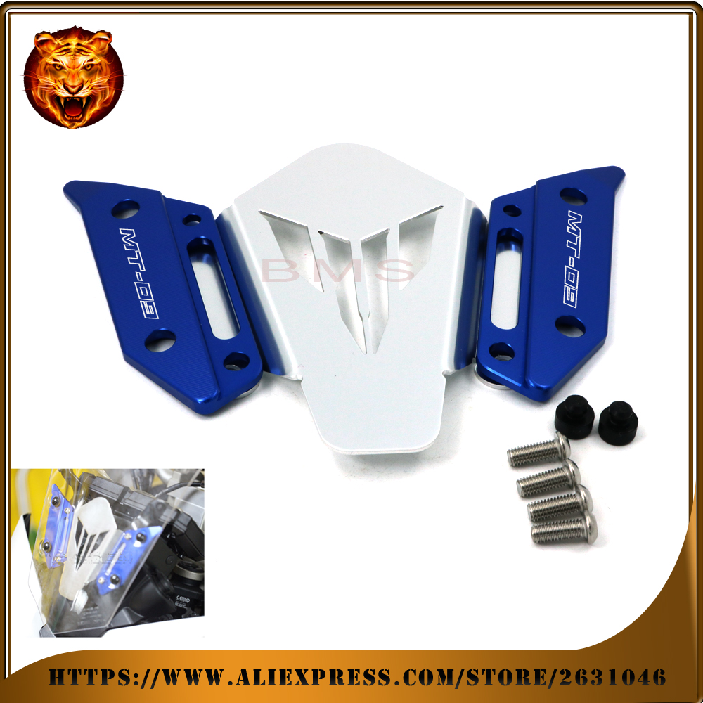 Accesorios de la motocicleta cnc soporte de montaje del parabrisas parabrisas pa