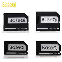 BaseQi Aluminum Micro SD /TF Card Adapter Memory Expansion SD Card Reader For Macbook Pro Retina 13''/15