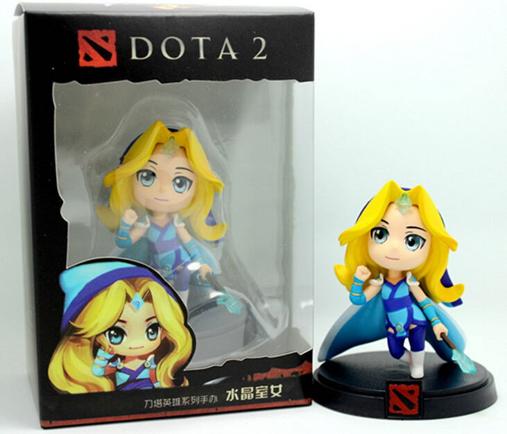 DOTA 2 Game Figure crystal maiden PVC Action Figures Collection dota2 Toys