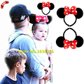 Hot Sale Children Hair Accessories Hairbands For Baby Girls Red Bow Dot Minnie Ear Headband Women Girl Headwear JQ9