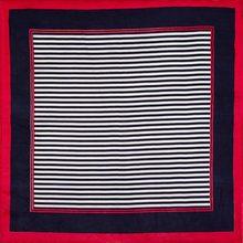 Шелковый шарф квадратные женский шарф в полоску шейный платок с принтом маленький квадратный шелковый шарф платок Женская бандана подарок для леди