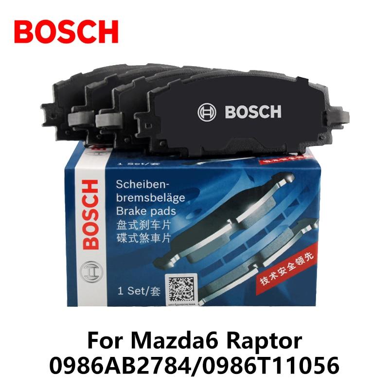 4 шт./компл. Bosch заднего тормозные колодки для Mazda6 Raptor 2.0 2.5 0986AB2784/0986T11056