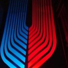 Qirun светодиодные приветственные атмосферные декоративные дневные фонарики, Тормозные Противотуманные фары, фонарь заднего хода, указатели поворота для BMW M5 M6 Gran Coupe X1 X3