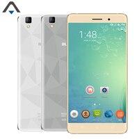 Orijinal Bluboo Maya Akıllı telefon RAM 2 GB ROM 16 GB 3G telefon Quad Core 3000 mAh 720 P HD ekran Android 6.0 13MP kamera celular