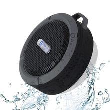 Mini c6 impermeable bluetooth manos libres micrófono altavoz succión baño para iphone samsung