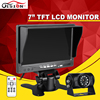 DC 12 24V Truck Bus Parking Camera Monitor System 7 Car Monitor With Sony CCD Rear
