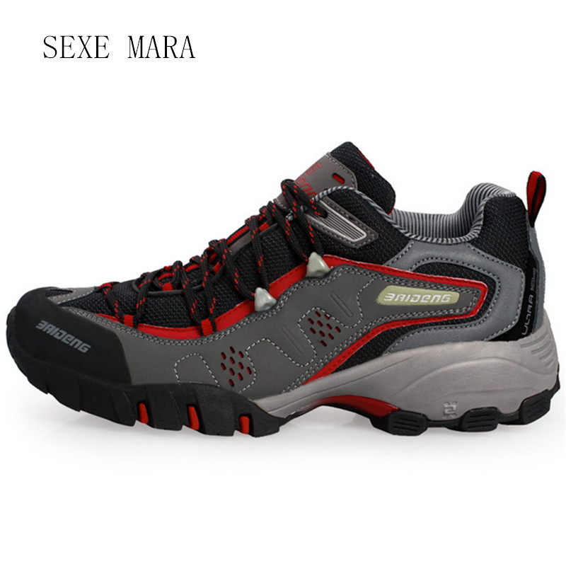 2017 Size 36-44 Sneakers men shoes Outdoor Sports Shoes men Running Shoes for men Walking non-slip Off-road Athletic Trainers V5 купить